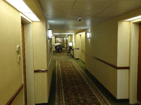 Hampton Inn San Francisco-Airport: The passage is wide and well lit