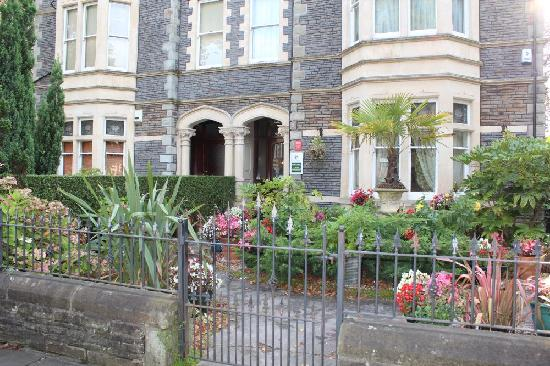 Front Entrance Beaufort Guest House