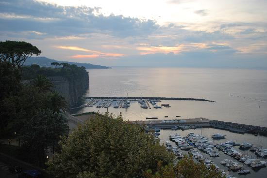 Piano di Sorrento, Italie : panorama