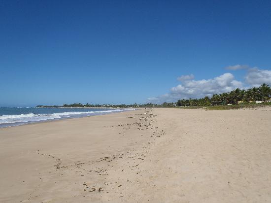 Itacimirim, BA: vista de la playa