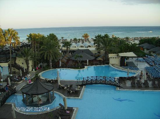 Hotel Paradis Palace: vue de notre chambre