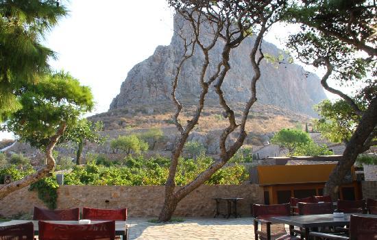 Lazareto Hotel: desde la ventana de la habitación
