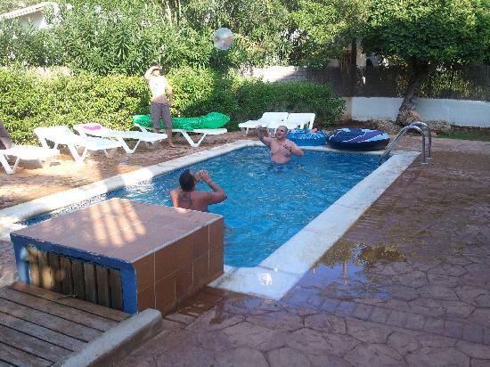 Cabau S'Argamassa Villas: The pool