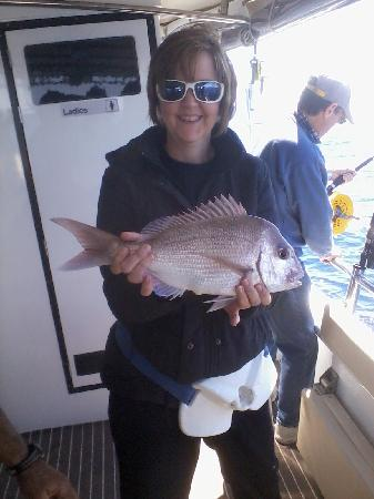 Mills Charters: Me, with my catch