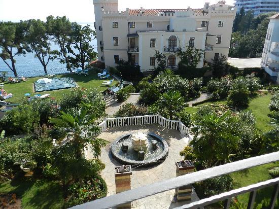 Hotel Miramar: Blick aus unserem Zimmer