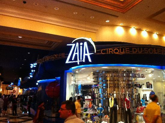 โรงแรมเดอะเวเนเชี่ยน มาเก๊า รีสอร์ท: Zaia - Cirque du Soleil