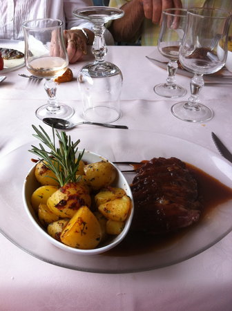 Restaurant L'Ecluse: magret de canard