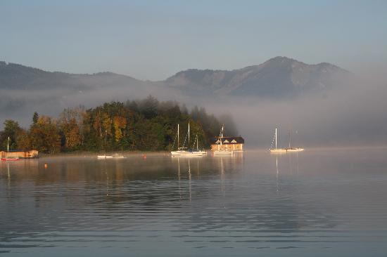 Hotel Stroblerhof: Strobl am Wolfgangsee im Herbst