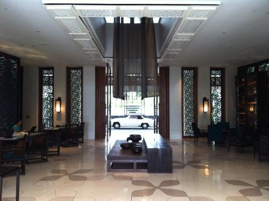 Intercontinental Hua Hin Resort: reception again