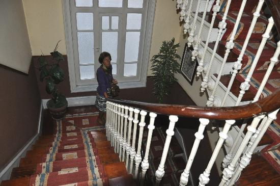 Hotel Aguila: Detalle de la escalera