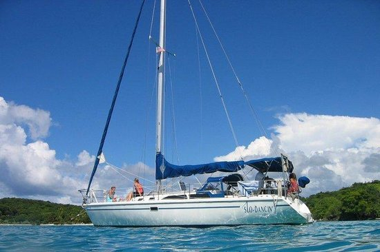 Interlinesail: Stopped for some snorkeling