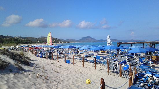 Castiadas, إيطاليا: La spiaggia