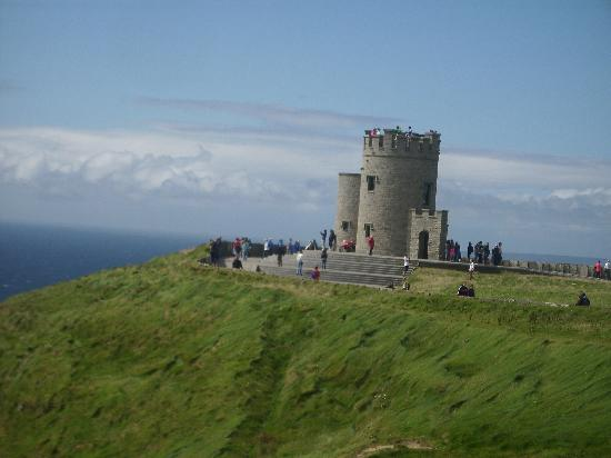 Cliffs of Moher: Brian's Tower....a higher view if needed