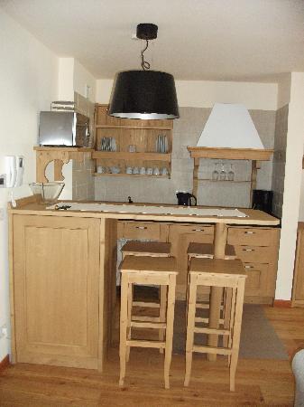 Apartment Torri di Seefeld: Kitchen / Dining Area
