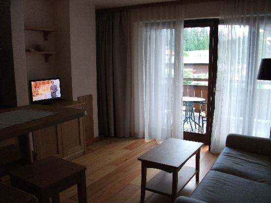 Apartment Torri di Seefeld: Lounge Area