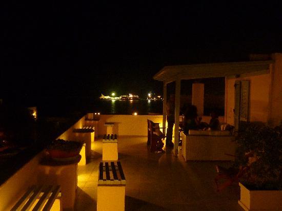 Hotel Kymata: Terrazzo ultimo piano