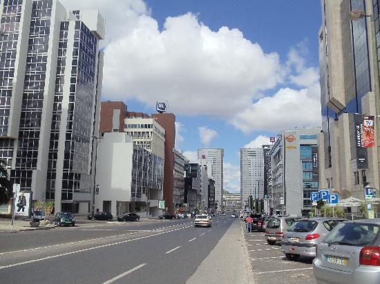 rua jose malhoa lisboa mapa Foto de Novotel Lisboa, Lisboa: Avenida José Malhoa   TripAdvisor rua jose malhoa lisboa mapa