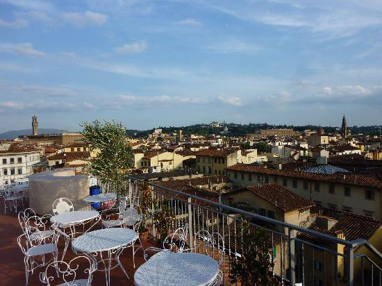 Croce di Malta Hotel: la terrasse de l'hôtel : une merveille!