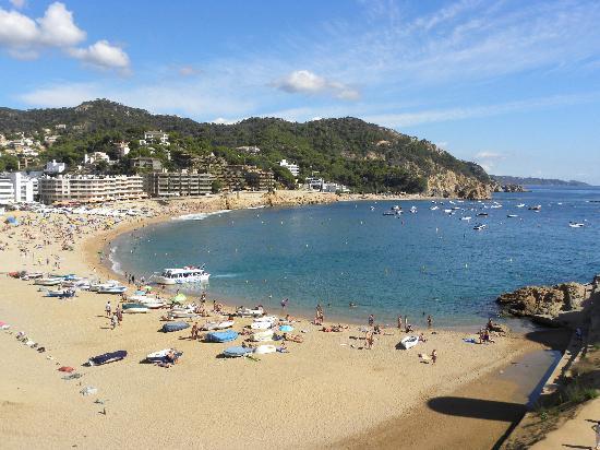 Tossa de Mar, Spain: vue sur tossa