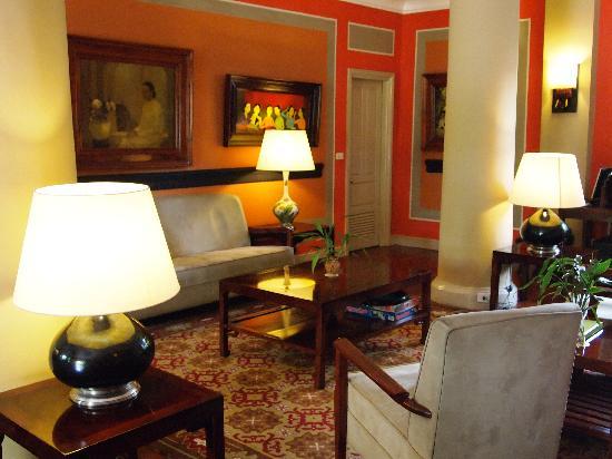 Villa Maly : Hotel lobby
