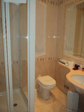 Leonardi Sistina Hotel: baño