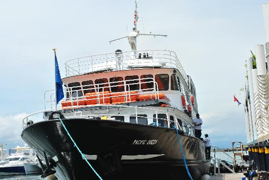 Panama Marine Adventures - Day Tours: The Pacific Queen-nice boat!