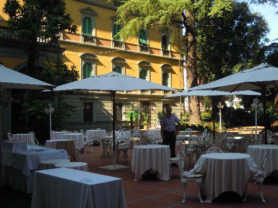 Grand Hotel & La Pace: giardino
