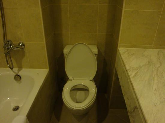 La Dolce Vita Hotel: bathroom toilet