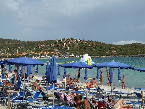 Hotel I Corbezzoli: Spiaggia attrezzata hotel