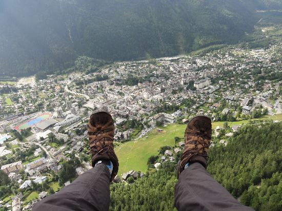 Fly Chamonix - Tandem Paragliding: Walking in the clouds above Chamonix