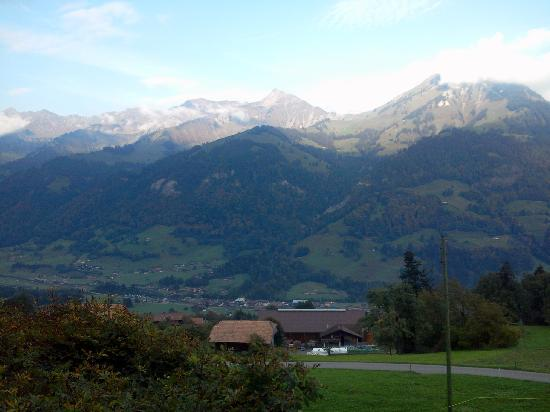 Gasthof Engelberg: colours changing all the time