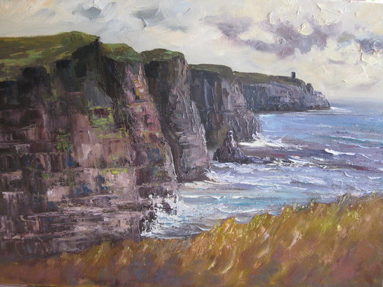 Lisdoonvarna, Irlande : Cliffs of Moher