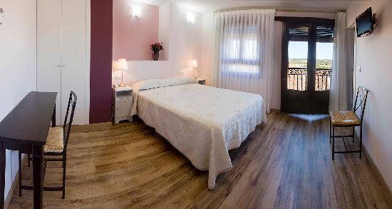 """Hotel Valdelinares : Habitación """"Biercol"""""""