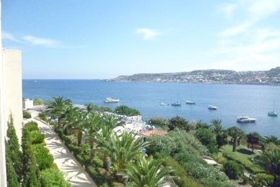 Mellieha Bay Hotel: Ausblick vom Balkon
