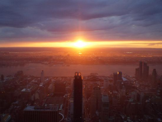 Empire State Building: Puesta de sol