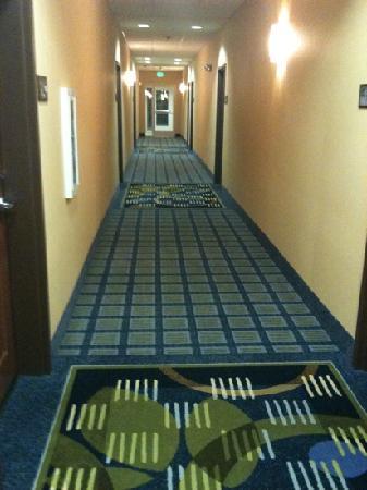 Hampton Inn & Suites Ridgecrest: Flur