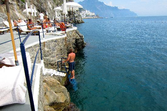 Santa Caterina Hotel : Beach
