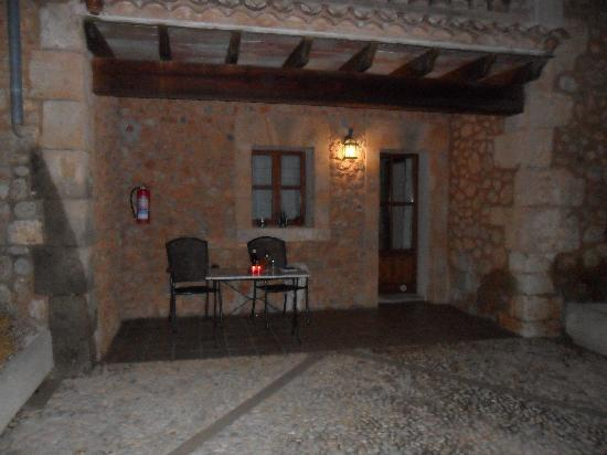 Binissalem, Испания: Privat terrace.