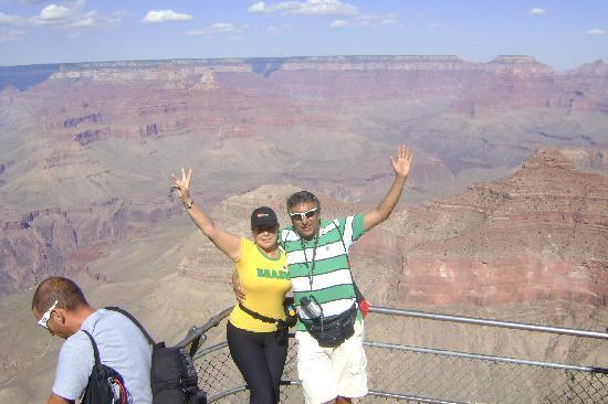 Grand Canyon South Rim: cañon del colorado