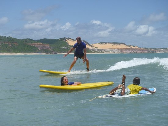 Surf Camp Pipa: surf courses