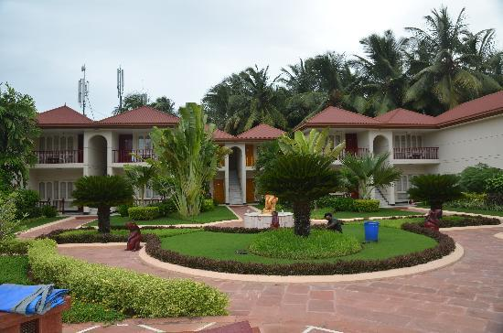 Radhika Beach Resort: les jardins