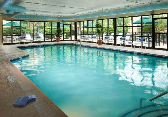 Courtyard Ann Arbor: A large heated indoor pool for exercise or play