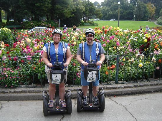Electric Tour Company Segway Tours: Near Conservatory of Flowers
