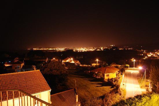 A Pobra do Caraminal, Spania: Vistas desde el balcon.