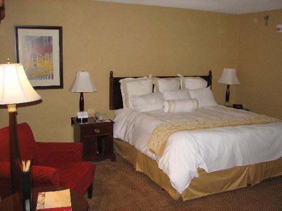 Springfield Marriott : room on 8th floor