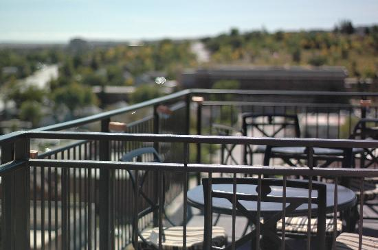 Hotel Alex Johnson Rapid City, Curio Collection by Hilton: View from one of the decks of Vertex