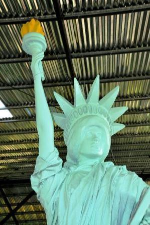 La Fortuna de San Carlos, Costa Rica: Statue of Liberty close-up