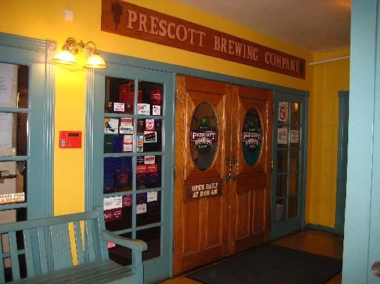Prescott Brewing Company: BE WELL FED - ALL WHO ENTER HERE