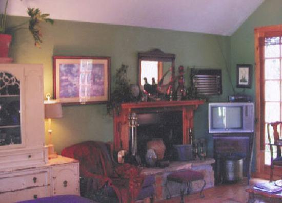 Buffalo Gap Bed and Breakfast: Interior of the Cottage