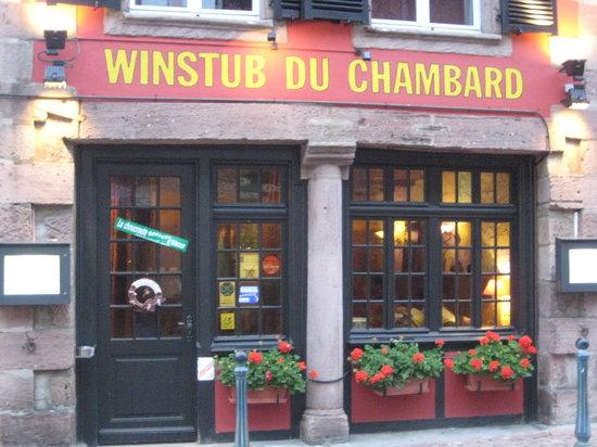 La Winstub du Chambard : Typical winstub